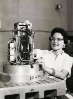 1959: Betty Carrell became the first female mechanical engineer among 350 peers at Sandia National Laboratories' California site.